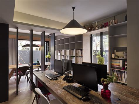 studio interior design a small house divided