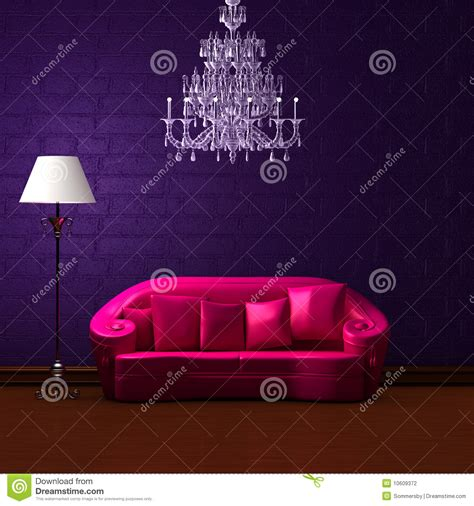 dark purple couch pink couch in dark purple min stock photography image