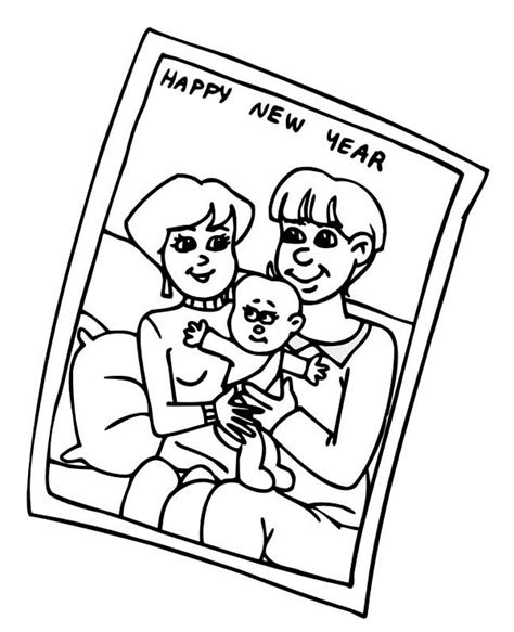family portrait coloring page family portrait of on 2015 new year coloring page netart