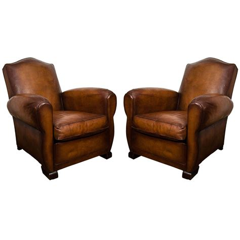 leather club chair recliners french leather club chairs at 1stdibs