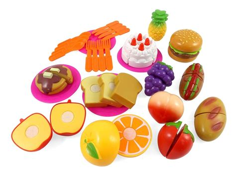 Fast Food Cutting Food kitchen cutting fruits fast food playset for