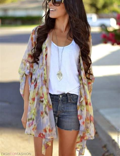 kimono jackets as a summer fashion trend for women over 60 30 days of summer outfit idea 9 kimono jacket look