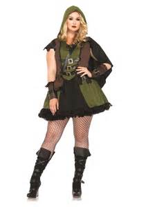 plus women halloween costumes plus darling robin hood women costume 73 99 the