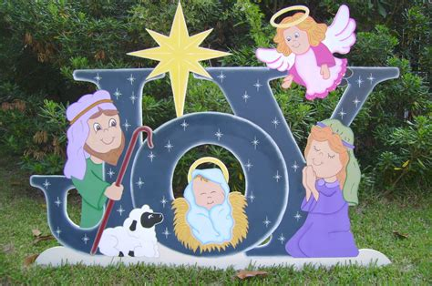 christmas with with christian theme yard religious themes yard made by de yard houston tx