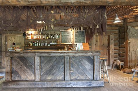 Rustic Kitchen Design Images by Bar With A Rustic Decor Photograph By Jaak Nilson