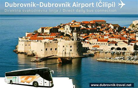 bus from dubrovnik to hvar town dubrovnik airport bus service