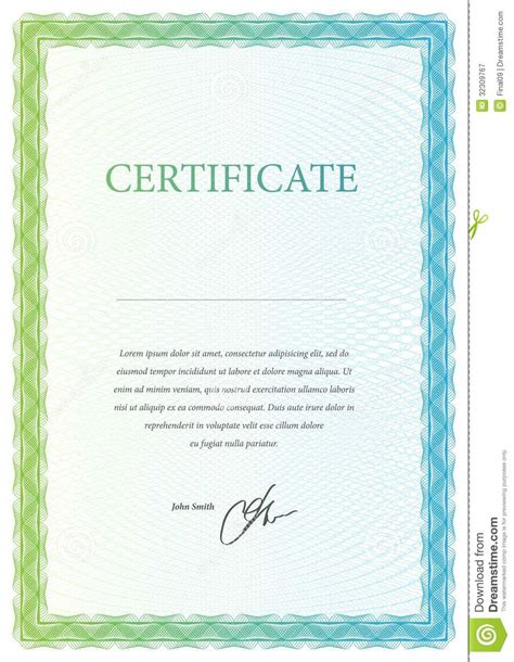 certificate templates vector free template certificate currency and diplomas royalty free