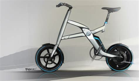 bmw folding bicycle bmw introduces stunning folding electric bike
