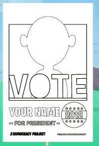 templates for election posters vote for me poster template pdf teaching pinterest