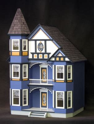 doll house colors painted lady dollhouse little darlings dollhouses