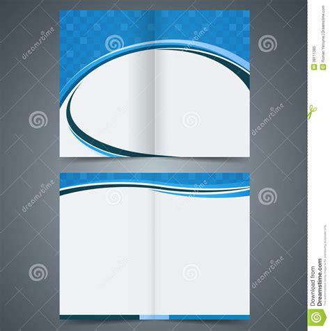 Bifold Brochure Template Design, Business Leaflet, Royalty