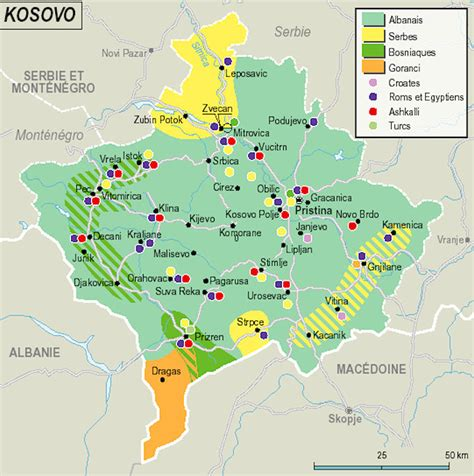 kosovo on a map kosovo maps
