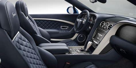bentley continental interior back seat continental gt speed convertible bentley motors