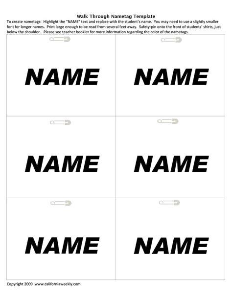 name tag template http webdesign14 com