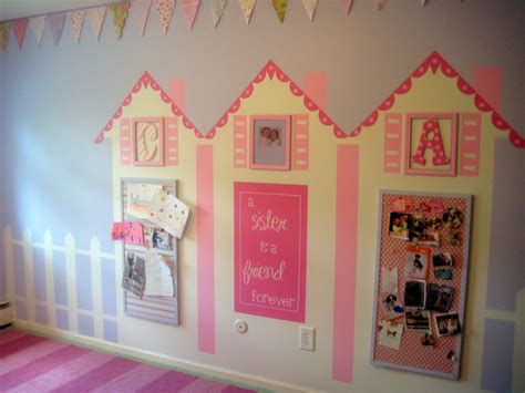 murals for girls bedroom remodelaholic murals for kids rooms guest