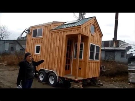 the latest tiny house on wheels from jamaica cottage shop 8x16 tiny house on wheels tour youtube