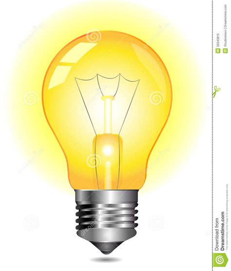 light clipart light bulb clipart yellow pencil and in color light bulb