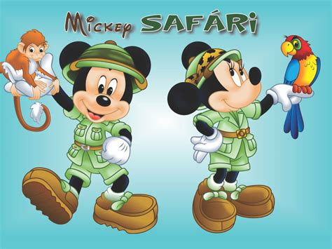 mickey  minnie mouse   pet pet  parrot cartoon safari desktop wallpaper hd  mobile