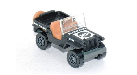 matchbox jeep willys matchbox military police jeep willys loose cars