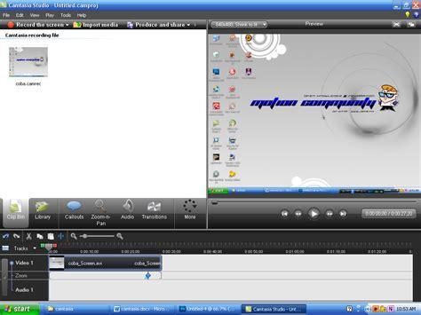 cara membuat video tutorial menggunakan camtasia studio 7 ilmu komputer record menggunakan camtasia studio 7