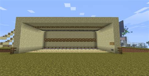 Extendable Wall L by Extendable Piston Wall Minecraft Project