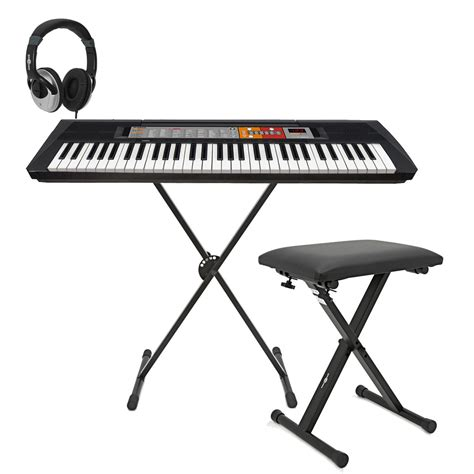 Yamaha Keyboard Tunggal Psr F50 disc yamaha psr f50 keyboard with x frame stand stool and headphones at gear4music
