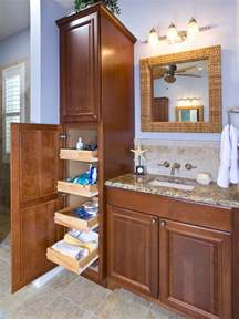 bathroom vanity organizers ideas 18 savvy bathroom vanity storage ideas hgtv