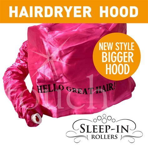 Large Hair Dryer Bag 20 sleep in rollers new large pink hair dryer