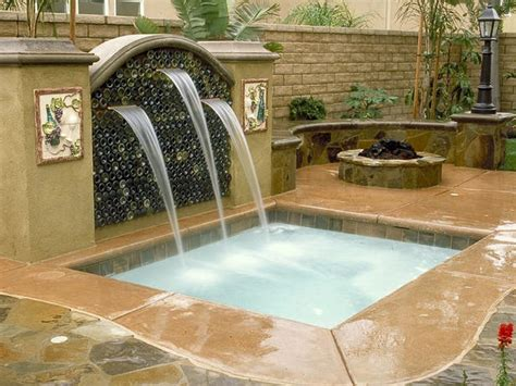 spa backyard swimming pool spas outdoor spaces patio ideas decks