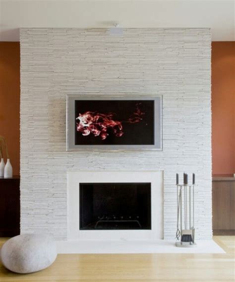Security Fireplace by White Quartz Stacked Fireplace Marvelous Exterior