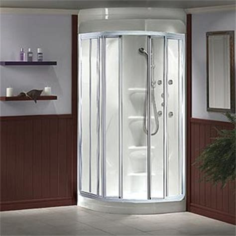 All In One Corner Shower Unit Bathroom Design One Shower Units For The Spa