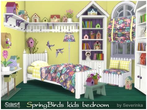 bedroom for 4 kids severinka s kids bedroom spring birds