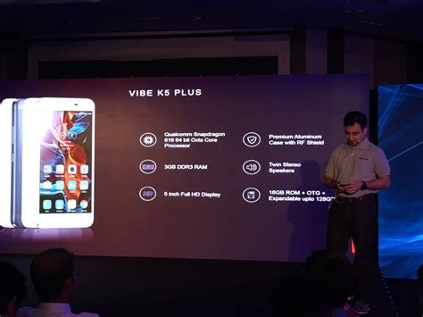 Lenovo Vibe K5 Plus 4g Lte 3gb Ram 16gb lenovo vibe k5 plus upgraded variant launched in india price specifications
