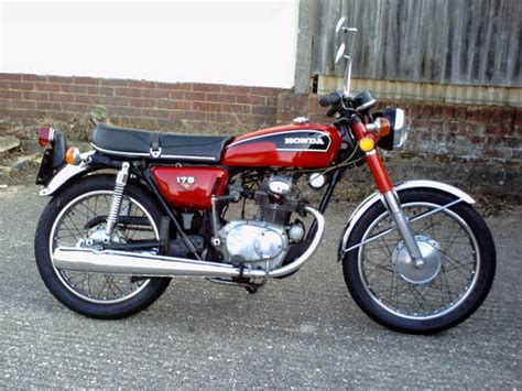 1973 honda cb 175 k6 classic motorcycle sold car and classic