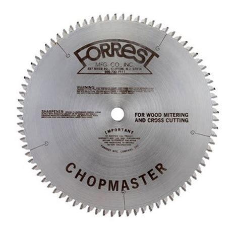 forrest table saw blades forrest cm10806105 chopmaster 10 inch 80 tooth atbr miter