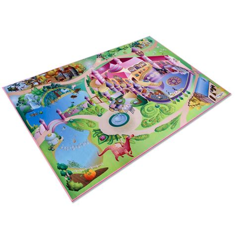 Tapis Fille tapis enfant fille grand tapis de jeu th 233 matique du