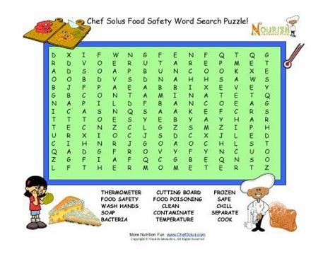 Osha Search Photos Printable Workplace Safety Puzzles Best Resource