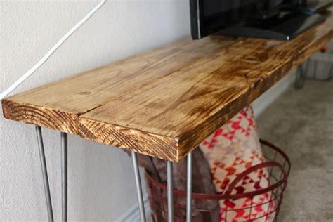 diy tv bench diy tv stand bench table tutorial diy and craft