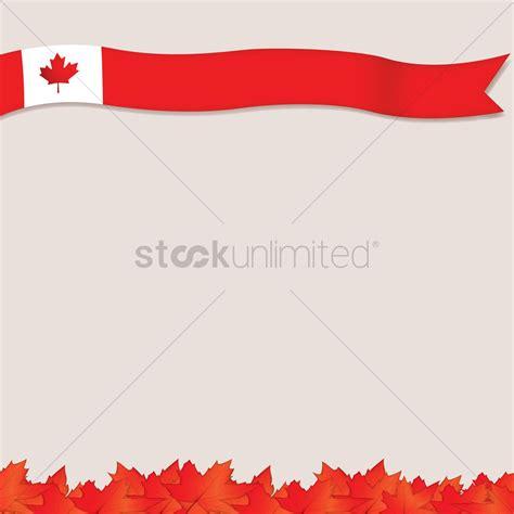 design a flag template canada flag template design vector image 1974949
