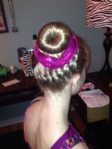 gymnastics meet hairstyles 33 best images about gymnastics hair styles for meets on