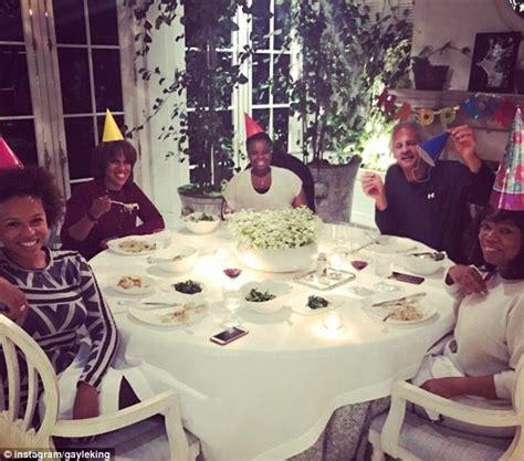 oprah winfrey birthday oprah winfrey celebrates birthday with pasta dinner