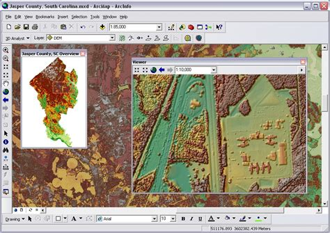 arcgis layout snap lidar solutions in arcgis part2 creating raster dems and
