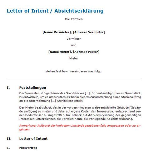 Letter Of Intent Zusammenarbeit Letter Of Intent Zusammenarbeit Muster Best Dissertation Writers College Essay Writing