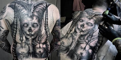 10 expert biomechanical tattoo artists scene360