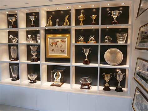 trophy display cabinets custom trophy and display cabinet with feature lighting