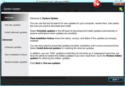 Lenovo Update how to use system update thinkvantage system upd lenovo community