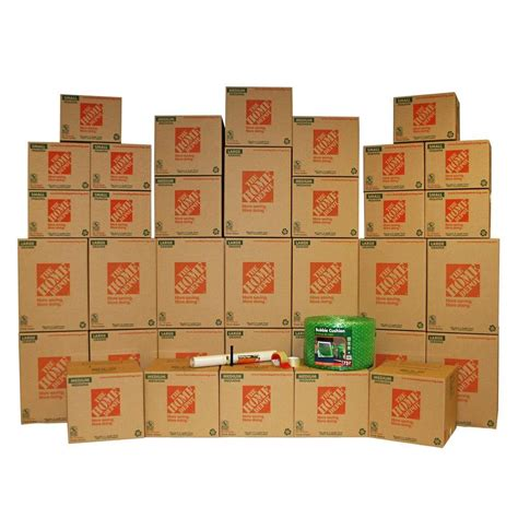 Home Depot Small Packing Box The Home Depot 35 Box Medium Packing Kit 701166 The Home