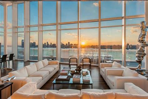 Modern Kitchen Cabinets Nyc by 40 Million Dollars New York Penthouse Luxury Topics