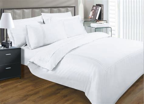 Quality Bedding Sets Uk 330 Thread Count Elegance White Colour Luxury Cotton Superior Quality 5 Hotel Bedding