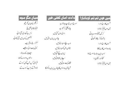 biography of muhammad ismail merthi in urdu kids poems rhymes urdu english